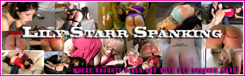 Lily Starr Spanking Banner