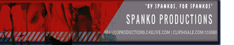 SPANKO PRODUCTIONS Banner