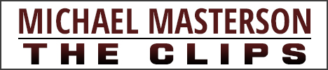 Michael Masterson- The Clips Banner
